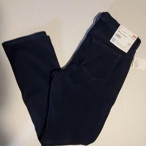 NWT Uniqlo women denim cropped legging pants